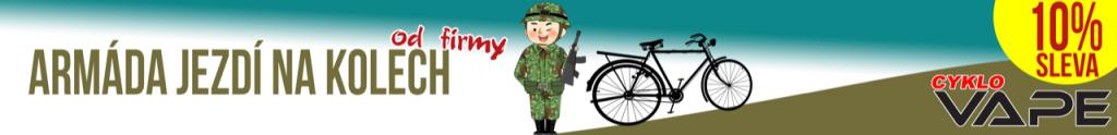 Armáda jezdí na kolech