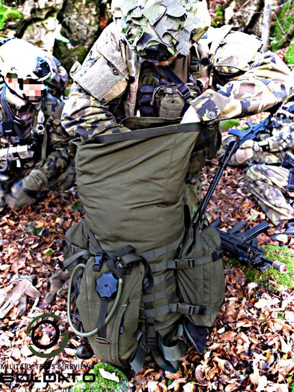 Jak funguje vojenský batoh
