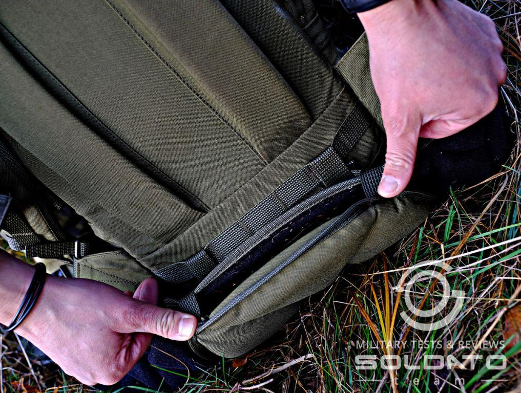 Funkční bederní pás batohu