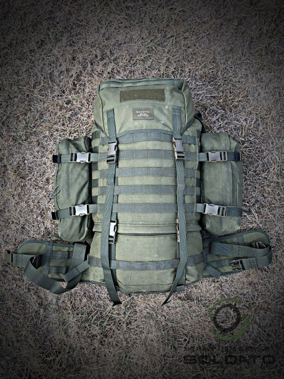Velikost patrolovacího batohu