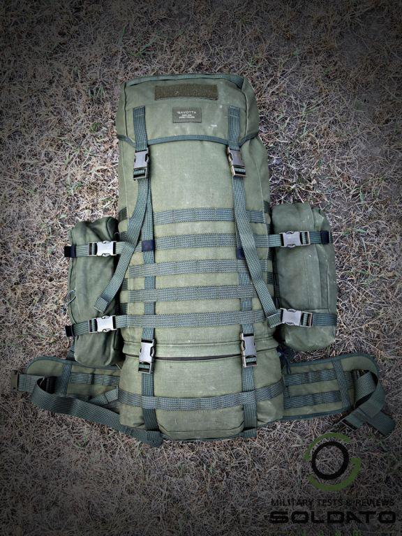 Velikost vojenského batohu