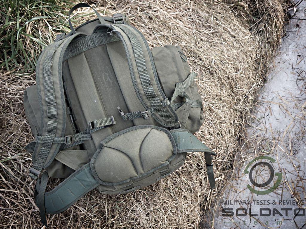 Zádový systém batohu