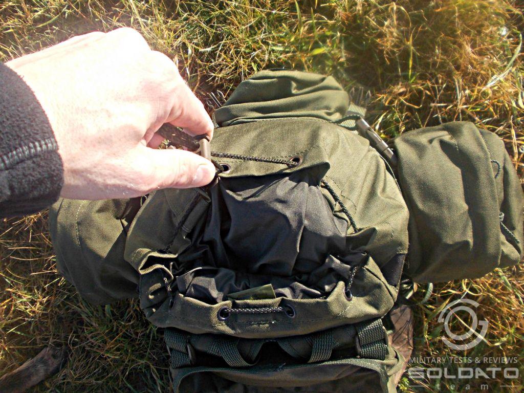 Zapínání batohu