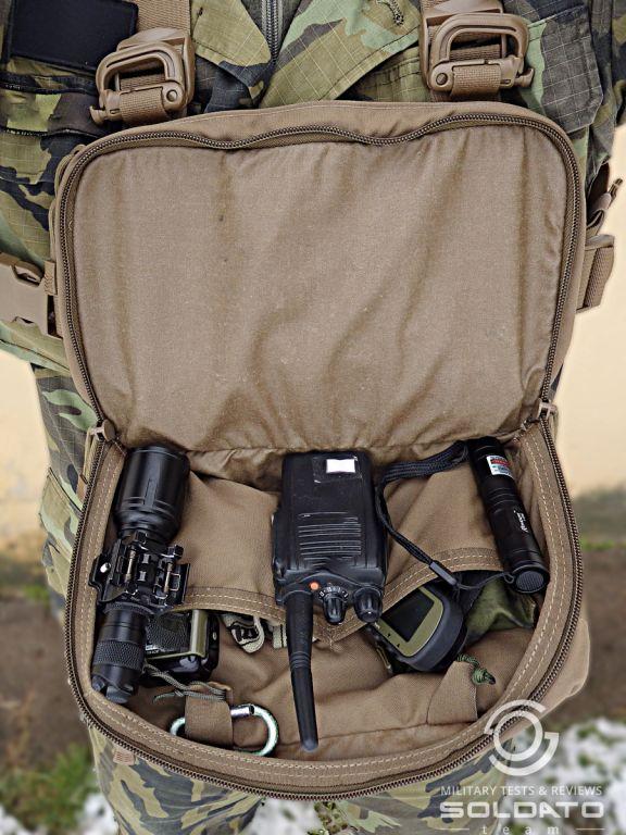 Vnitřní uspořádání Kit Bag