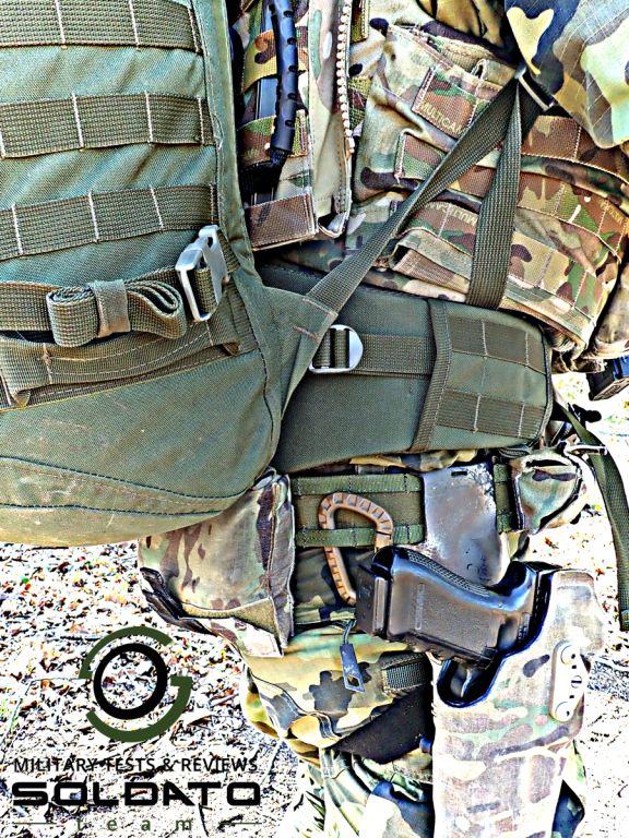 Střední batoh do armády