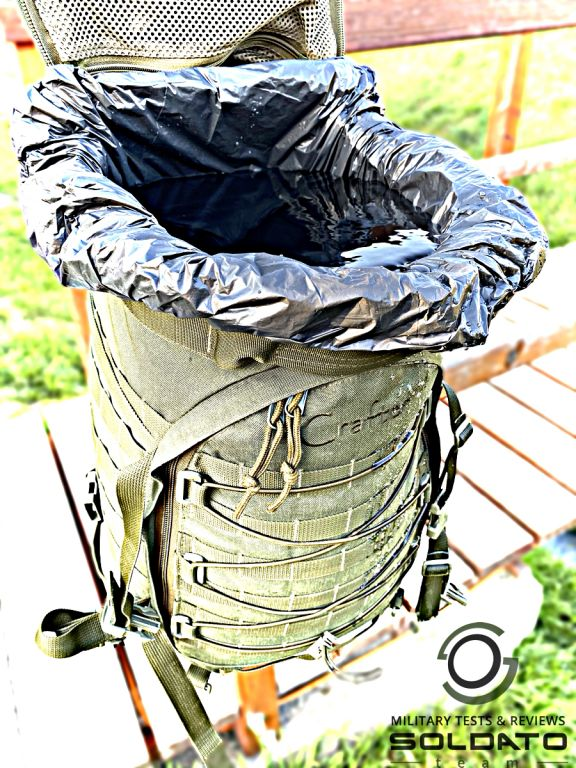 Objem středního batohu