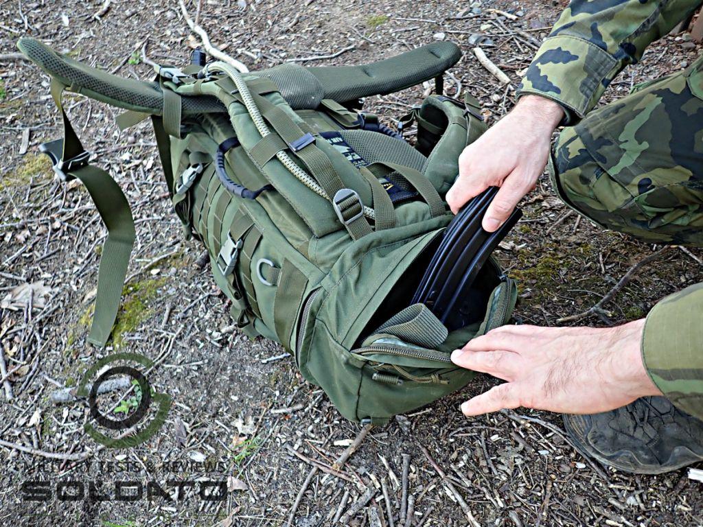 Jak využít kapsy na batohu