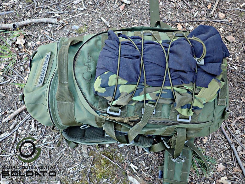 Správně zabalený batoh
