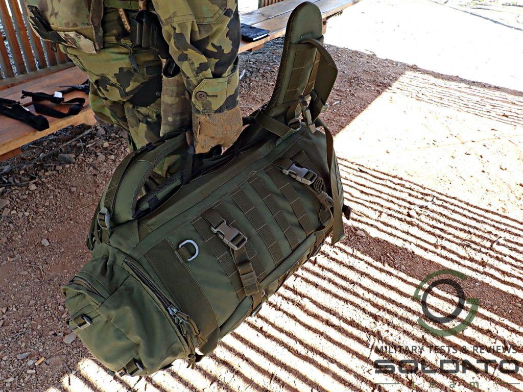 Možnosti nošení batohu