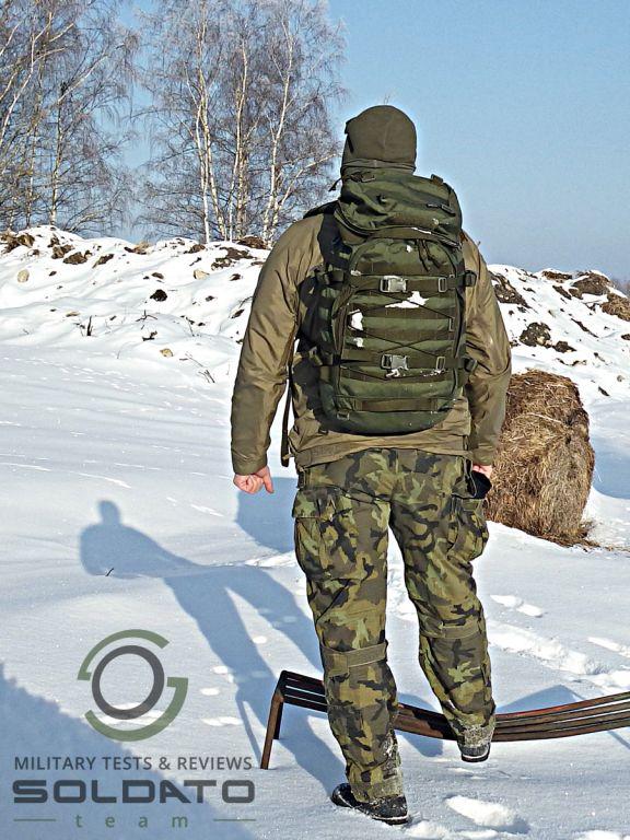 Střední outdoorový batoh