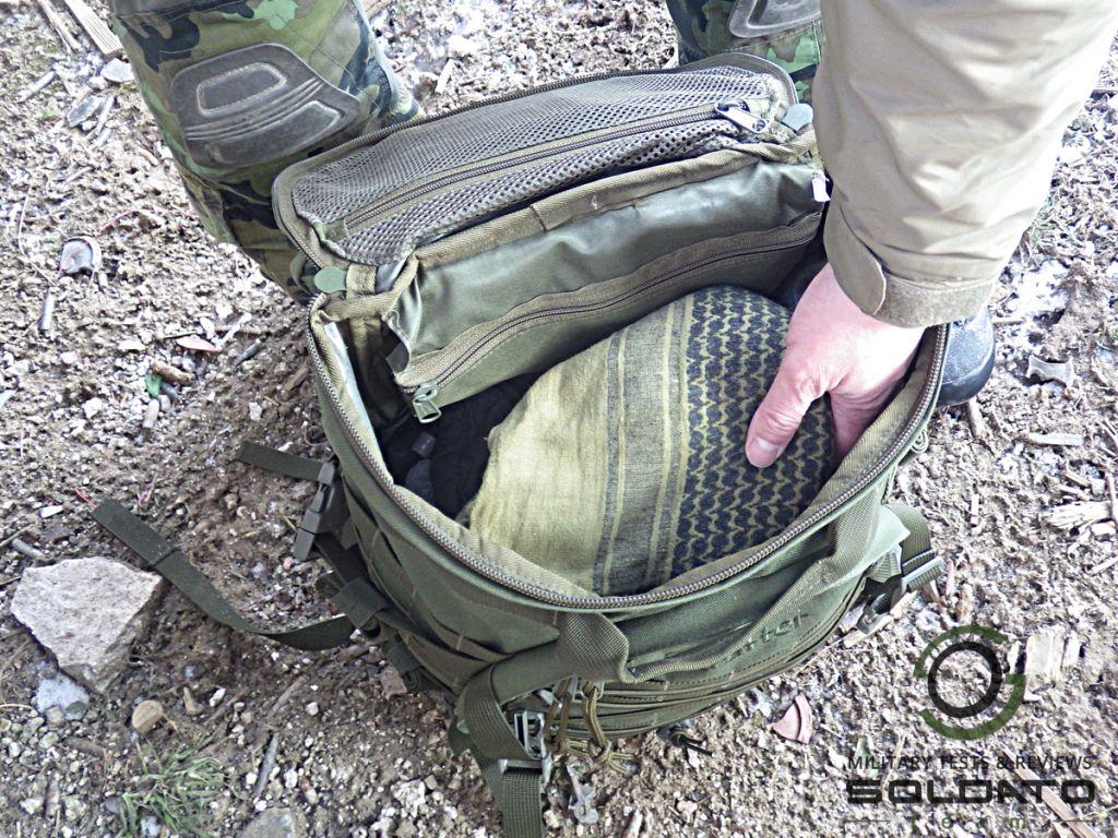 Jednoduchý komínový batoh