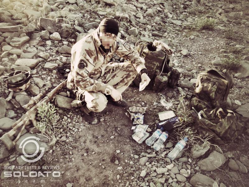 Jak se na jídlo do bojových podmínek dívají profesionální vojáci?
