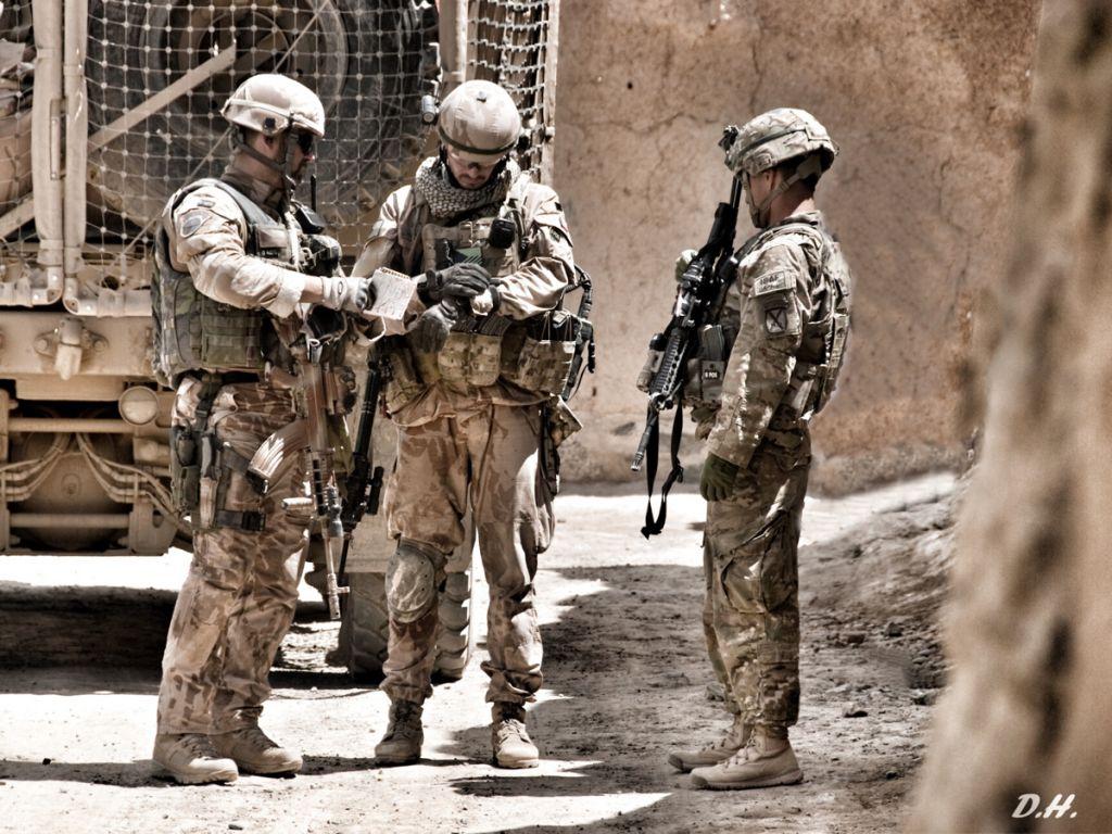 Výbava profesionálního vojáka