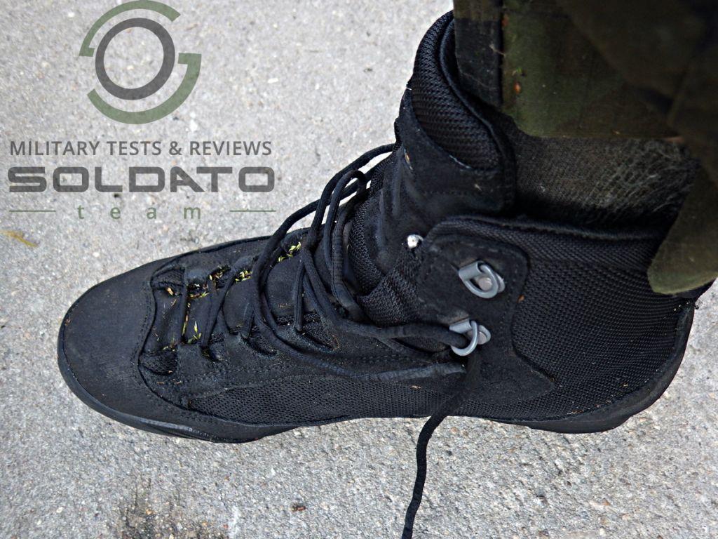Ideální vojenská bota