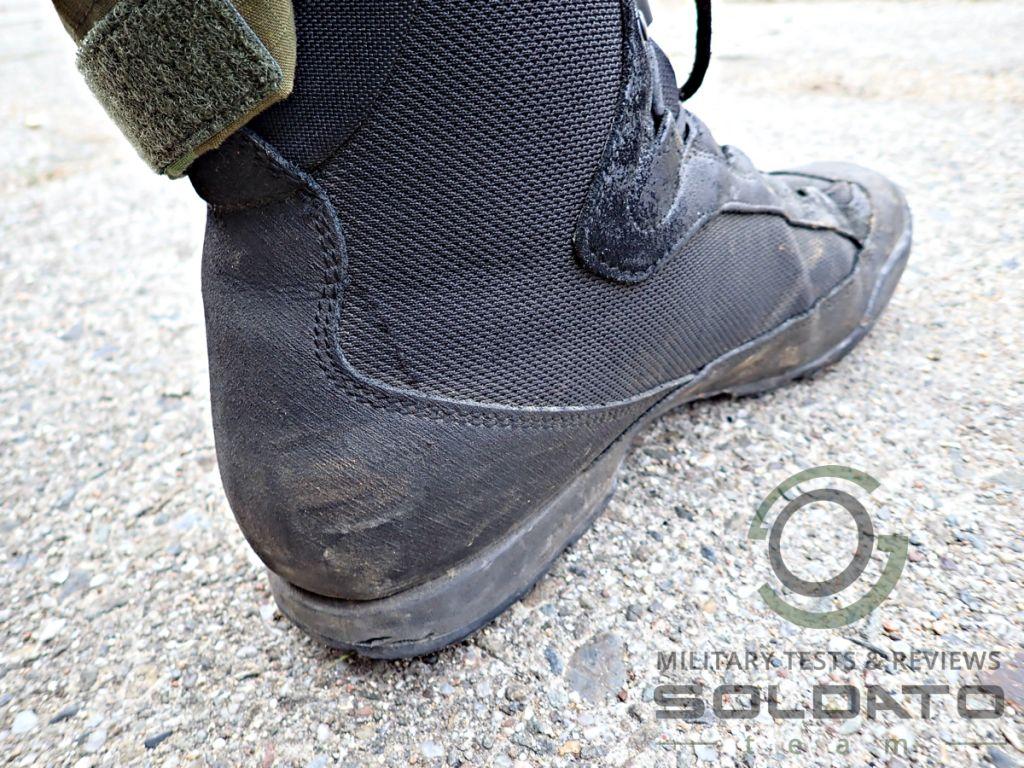 Odolnost vojenských bot