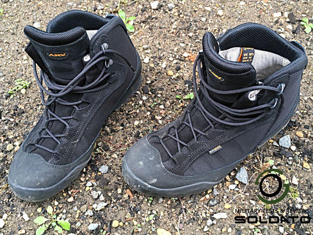 Jak vypadají boty AKU Tactical?