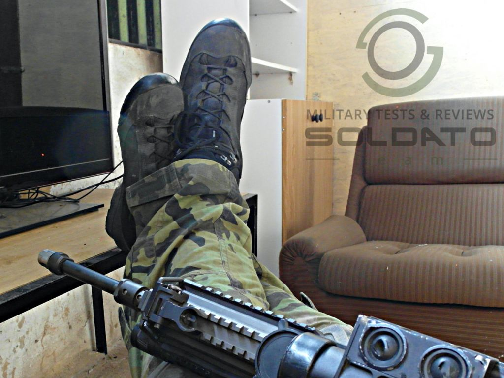 AKU Tactical military boots