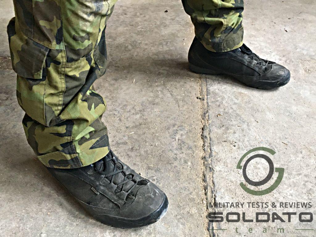 Jak vypadají vojenské boty AKU