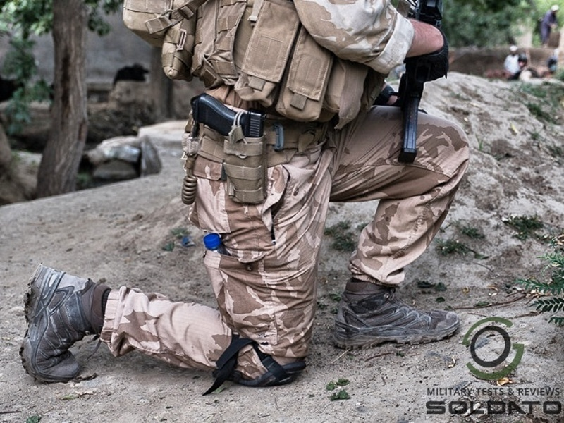 Foto  Pohodlná bota i do náročnějšího terénu .   SOLDATO Team 01311e9817