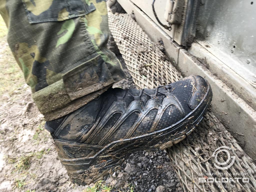 Jaké boty nosí vojáci