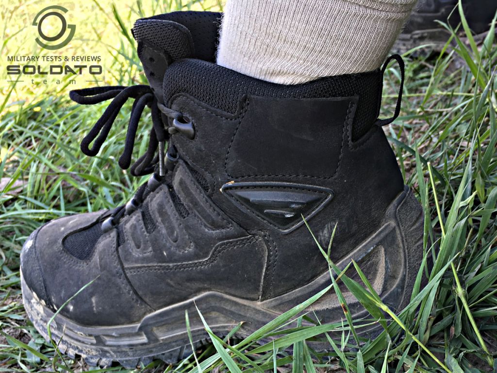 Velikost vojenské boty