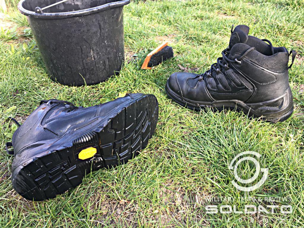Správná péče o vojenské boty