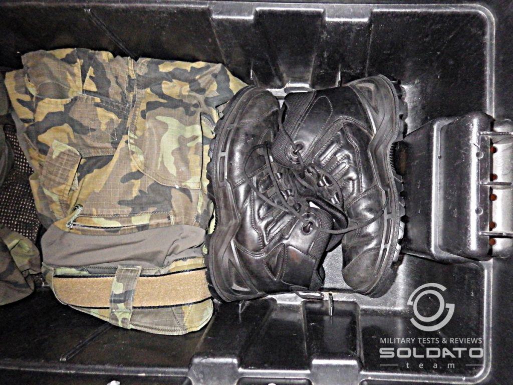 Prabos vojenské boty