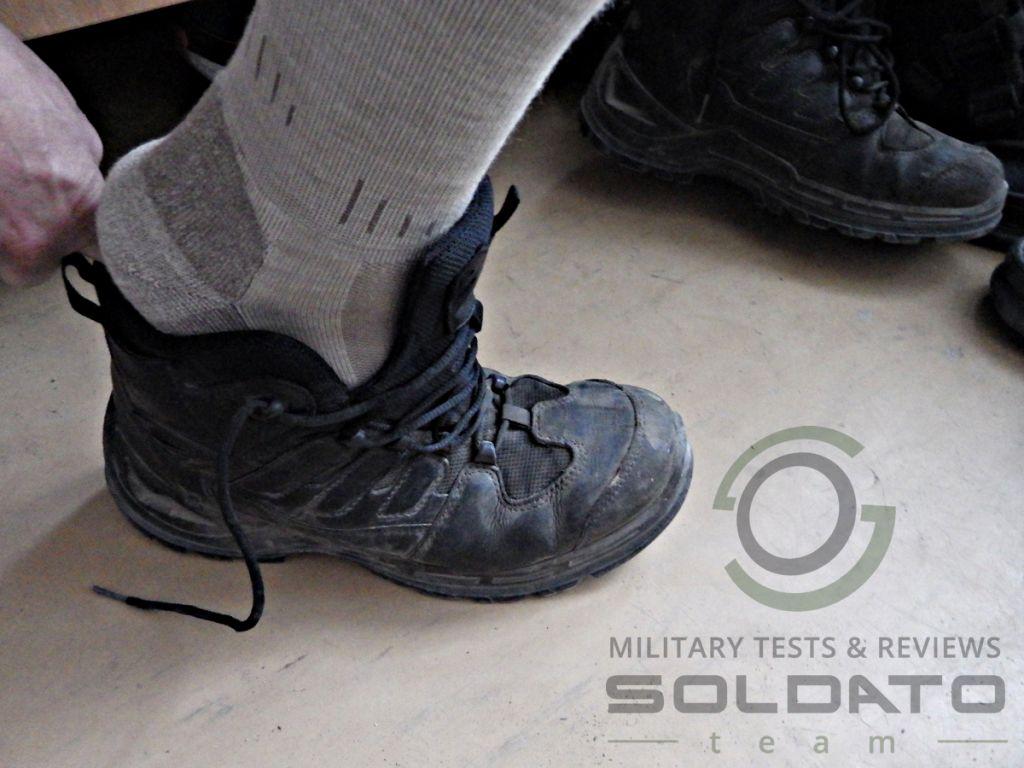 Správné nazouvání boty