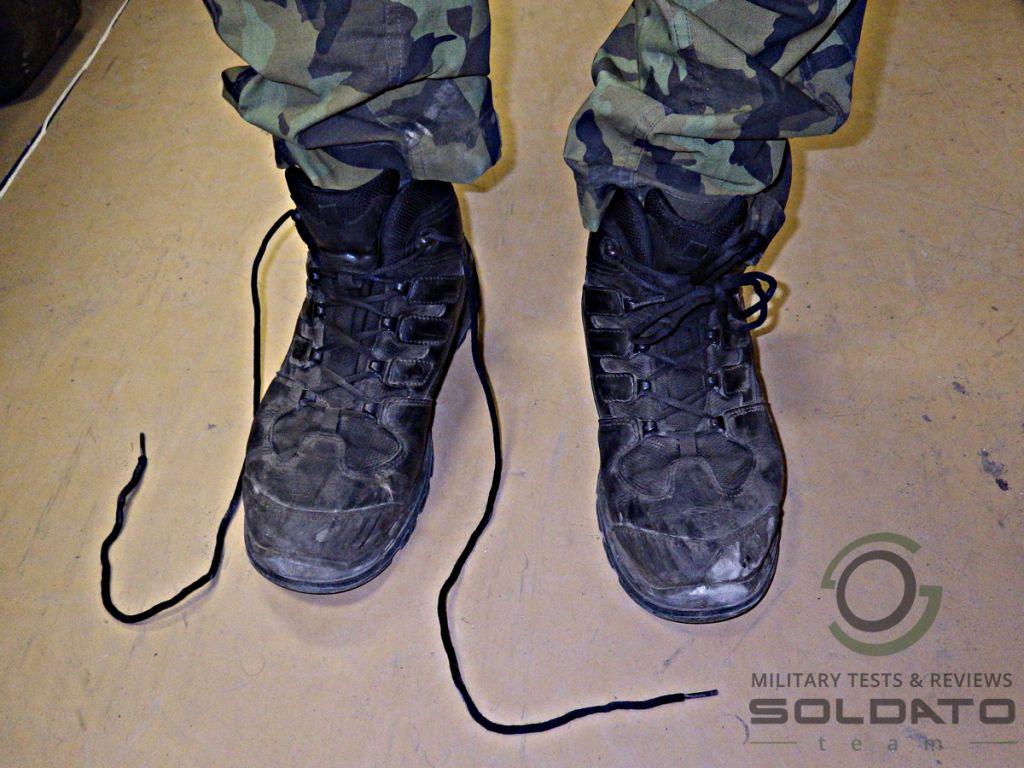 Jaké tkaničky do bot