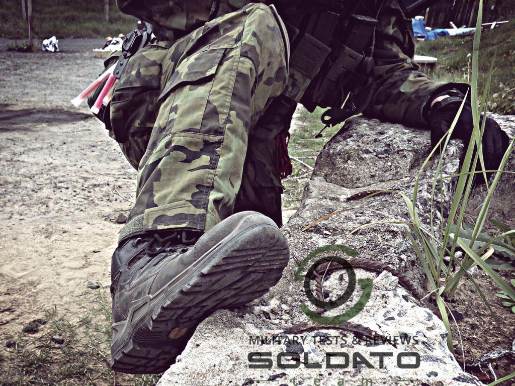 Podrážky vojenských bot