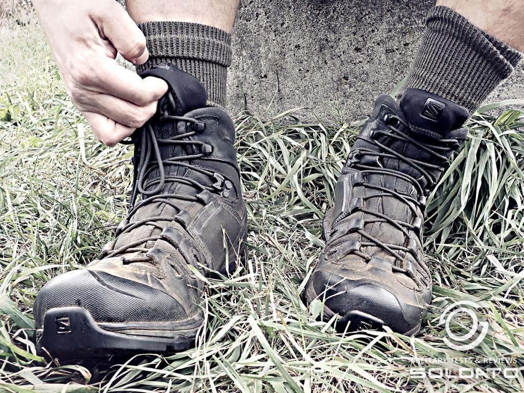 Jak správně zavazovat vojenské boty