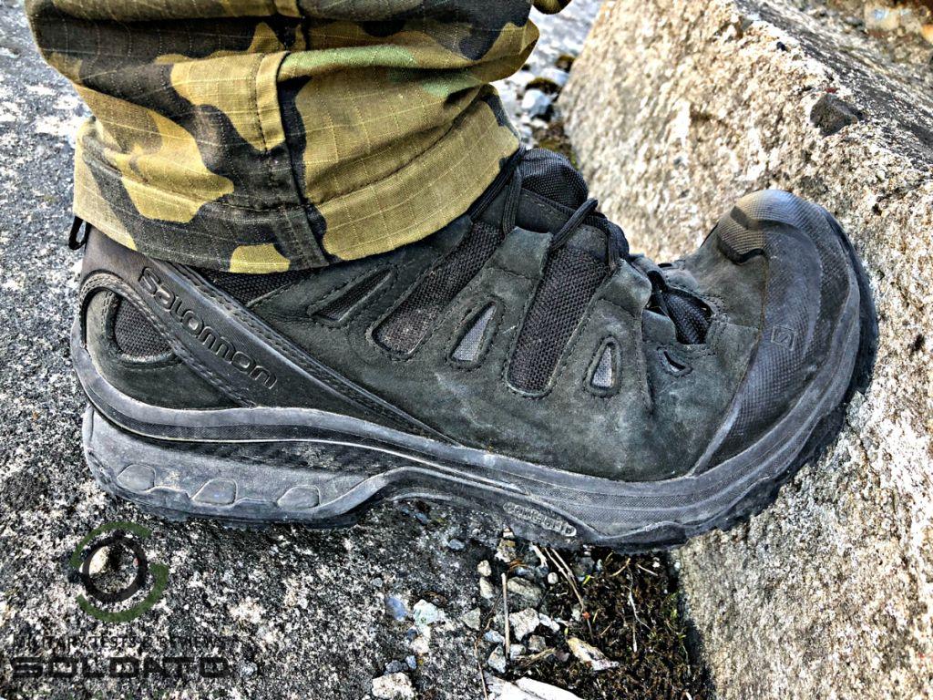Vyztužená špice u pracovní obuvi?