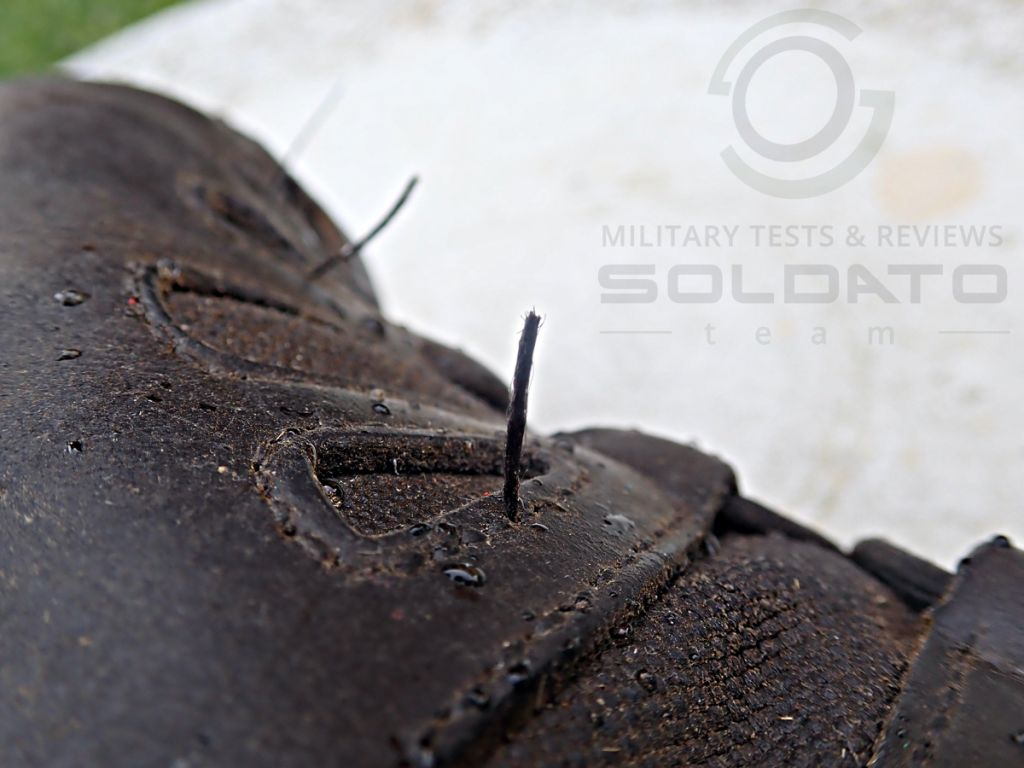 Výstupní kontrola obuvi
