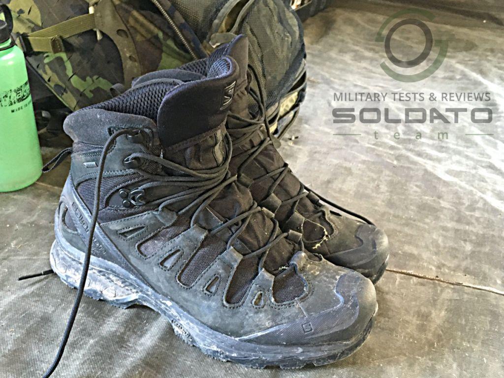 Vojenská obuv Salomon