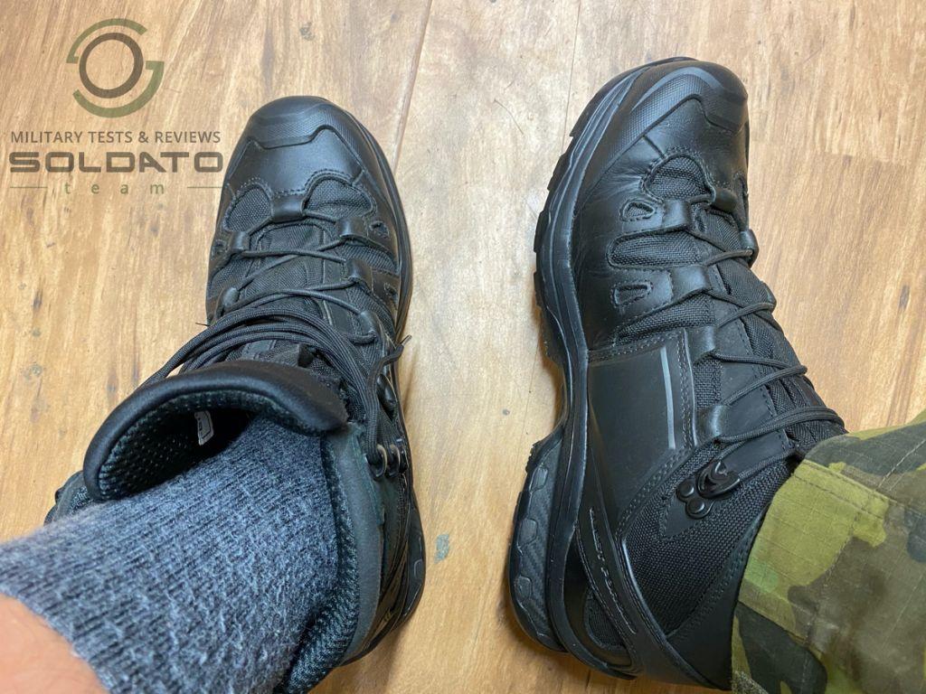 Jak vybrat vojenské boty