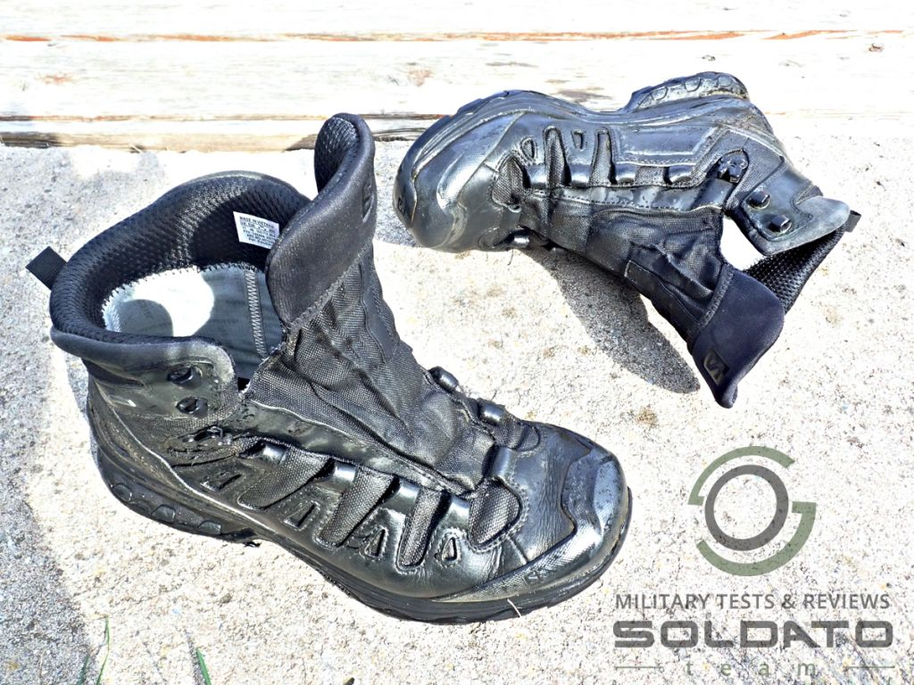 Jak ošetřovat vojenskou obuv