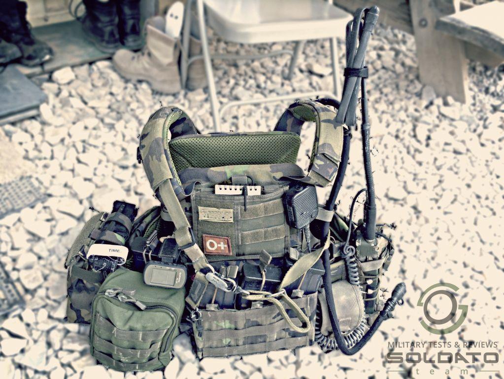Nastrojená taktická balistická vesta