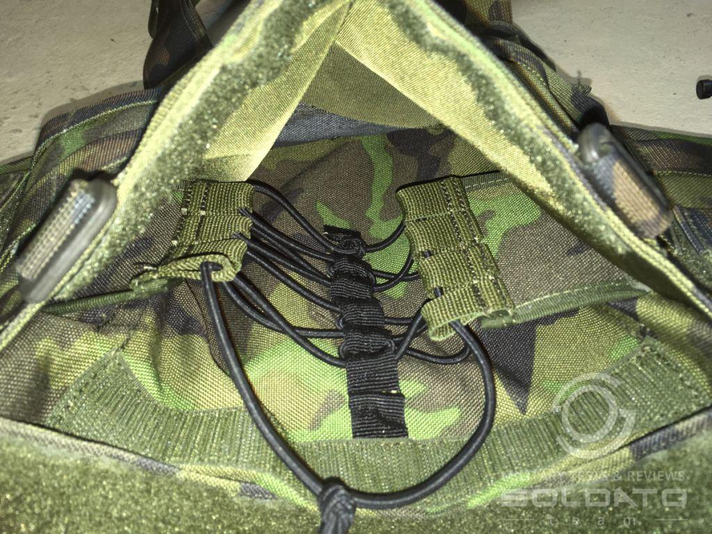 Detail nosiče plátů ALP