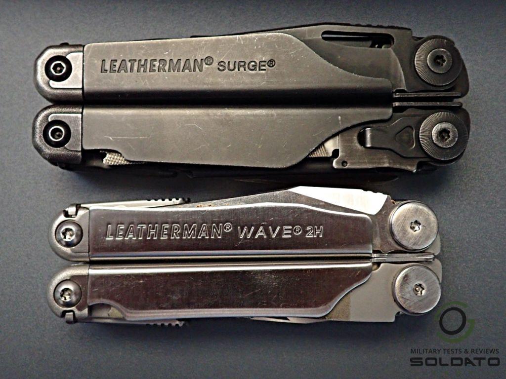Černý nebo stříbrný Leatherman
