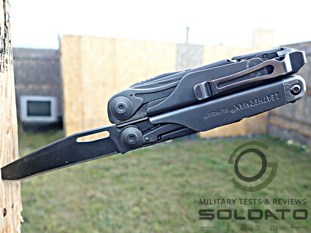 Leatherman Surge knife