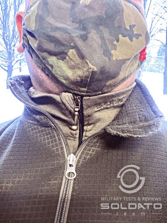 Špatné vrstvení zimního oblečení