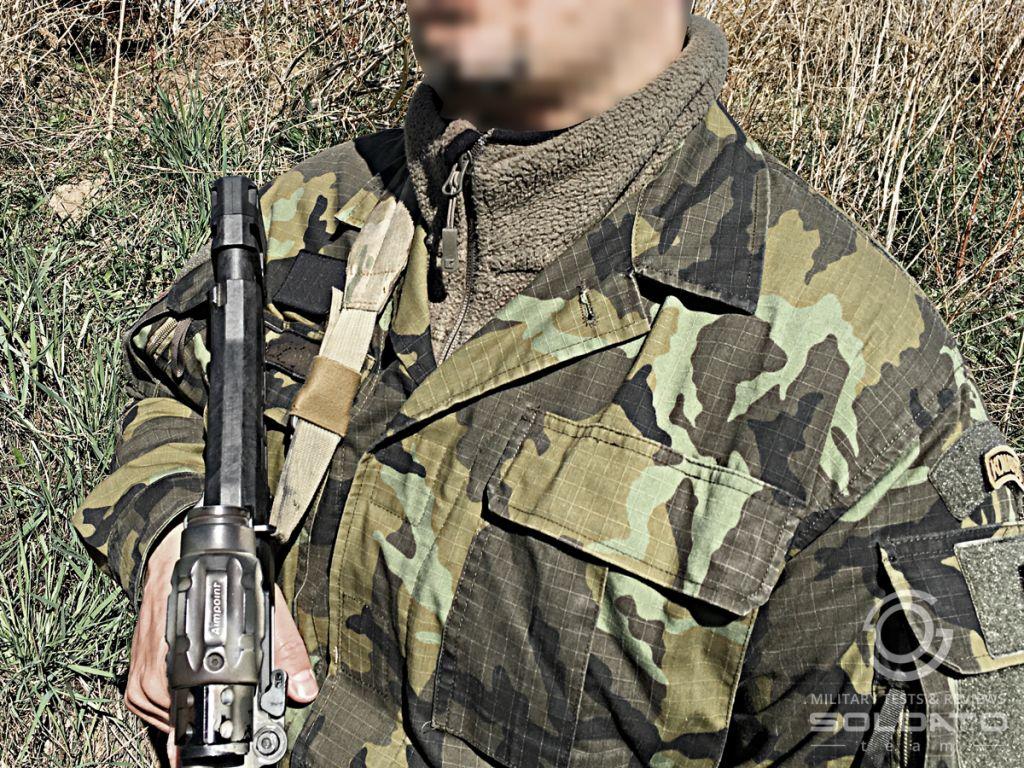 Co si oblékají vojáci v zimě