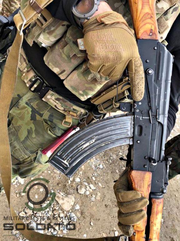 Test vojenského vybavení SOLDATO team