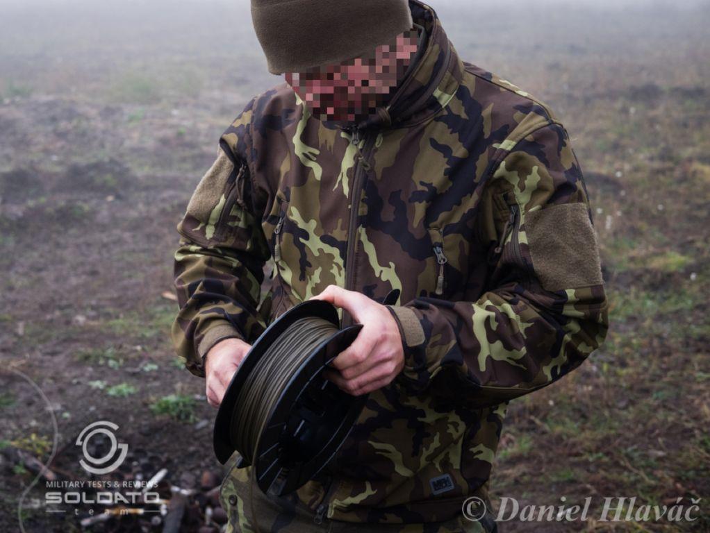 Softshellová bunda pro vojáky