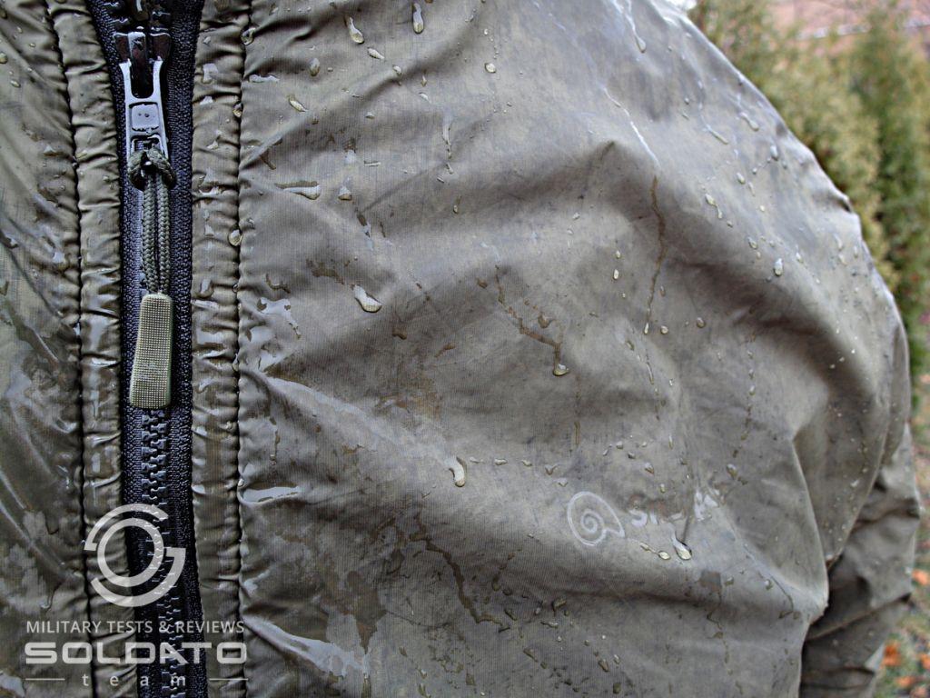 Vodní sloupec zimní bundy