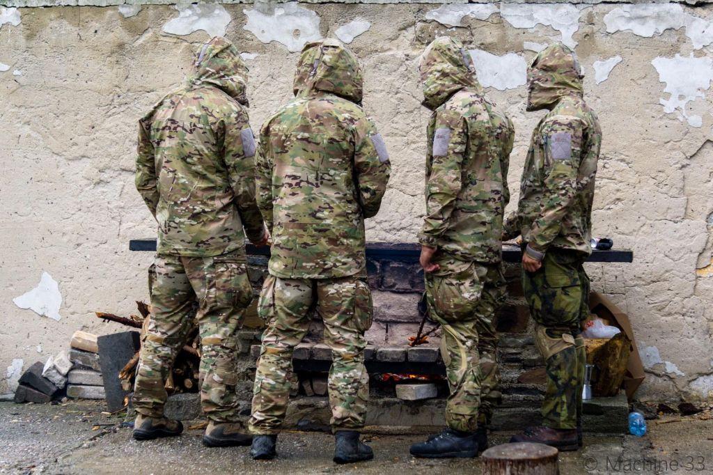 Czech JTAC military gear