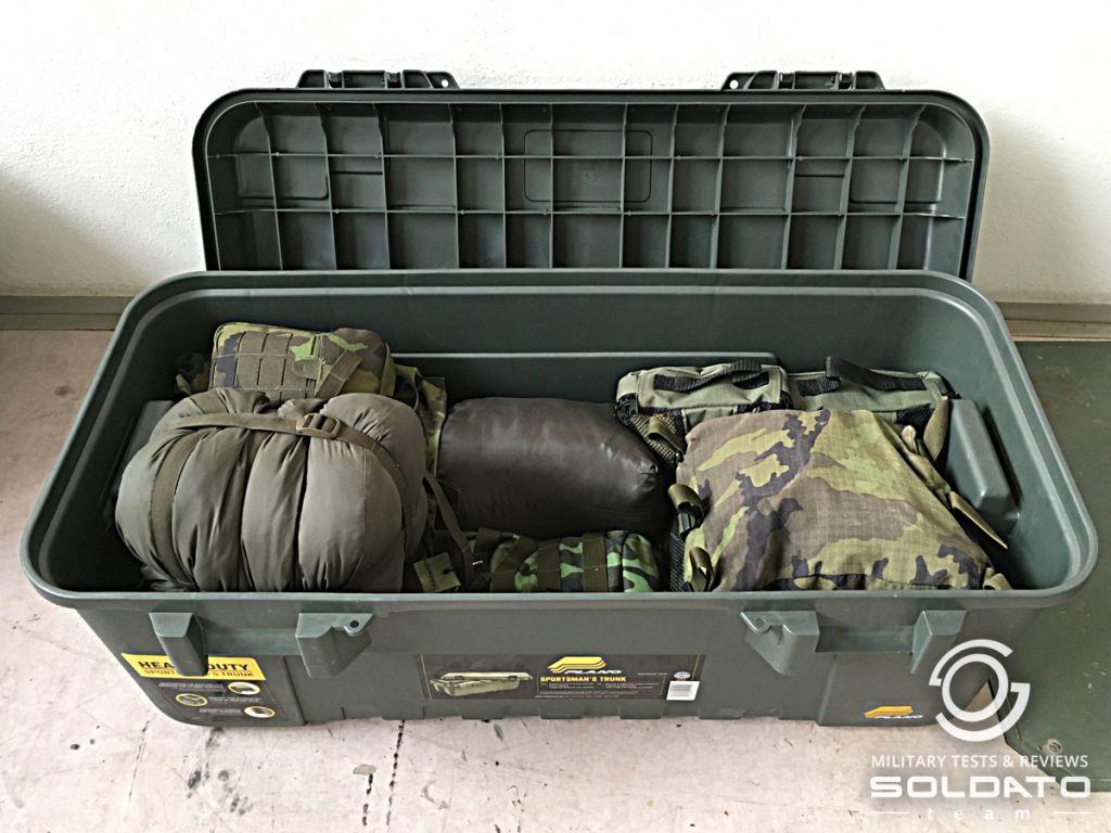 Jak se balí vojáci do mise.
