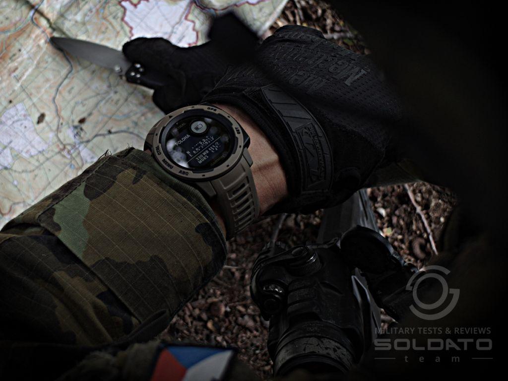 GPS poloha na hodinkách