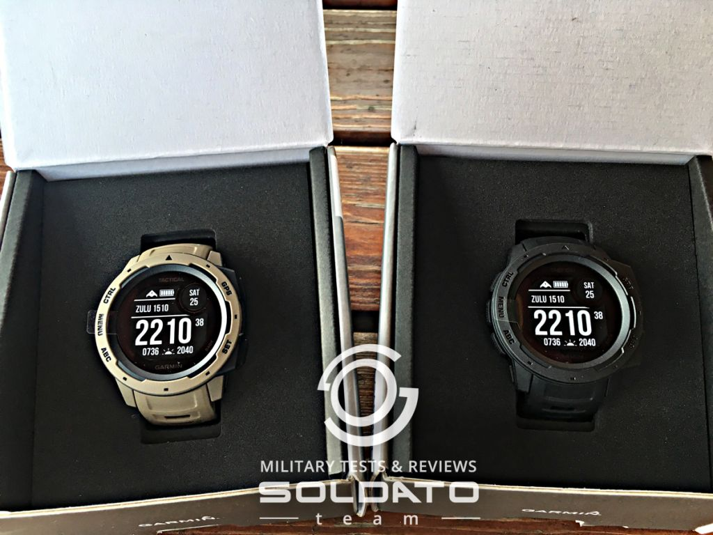 Nové gps hodinky Garmin Instinct Tactical