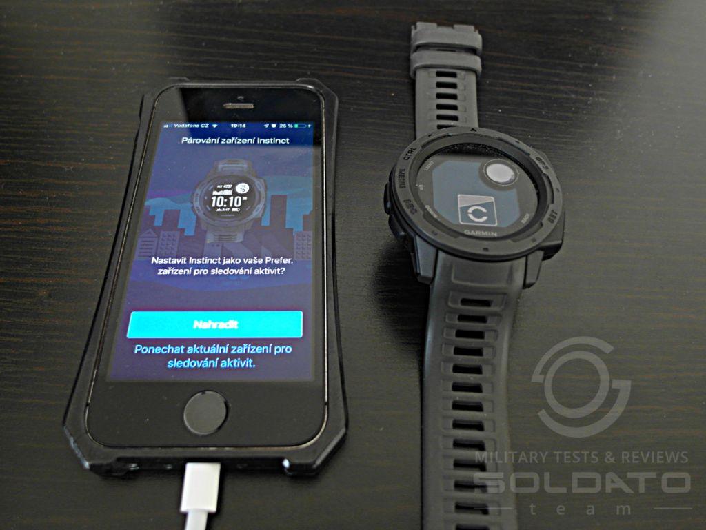 Garmin Connect a mobil